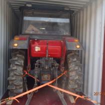 二手拖拉机出口案例