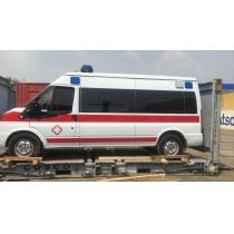 救护车出口非洲案例