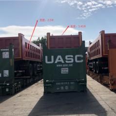 日托米尔公路项目-自卸车出口注意事项