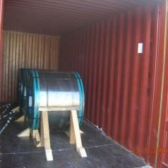 8吨卷钢出口方案
