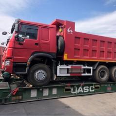 重型自卸车出口流程